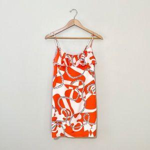 Lilly Pulitzer Laya Dress in Orange Booze Cruise